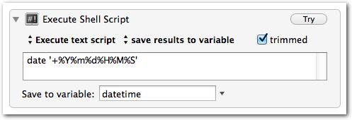 "Keyboard Maestro ""Date"" Variable"