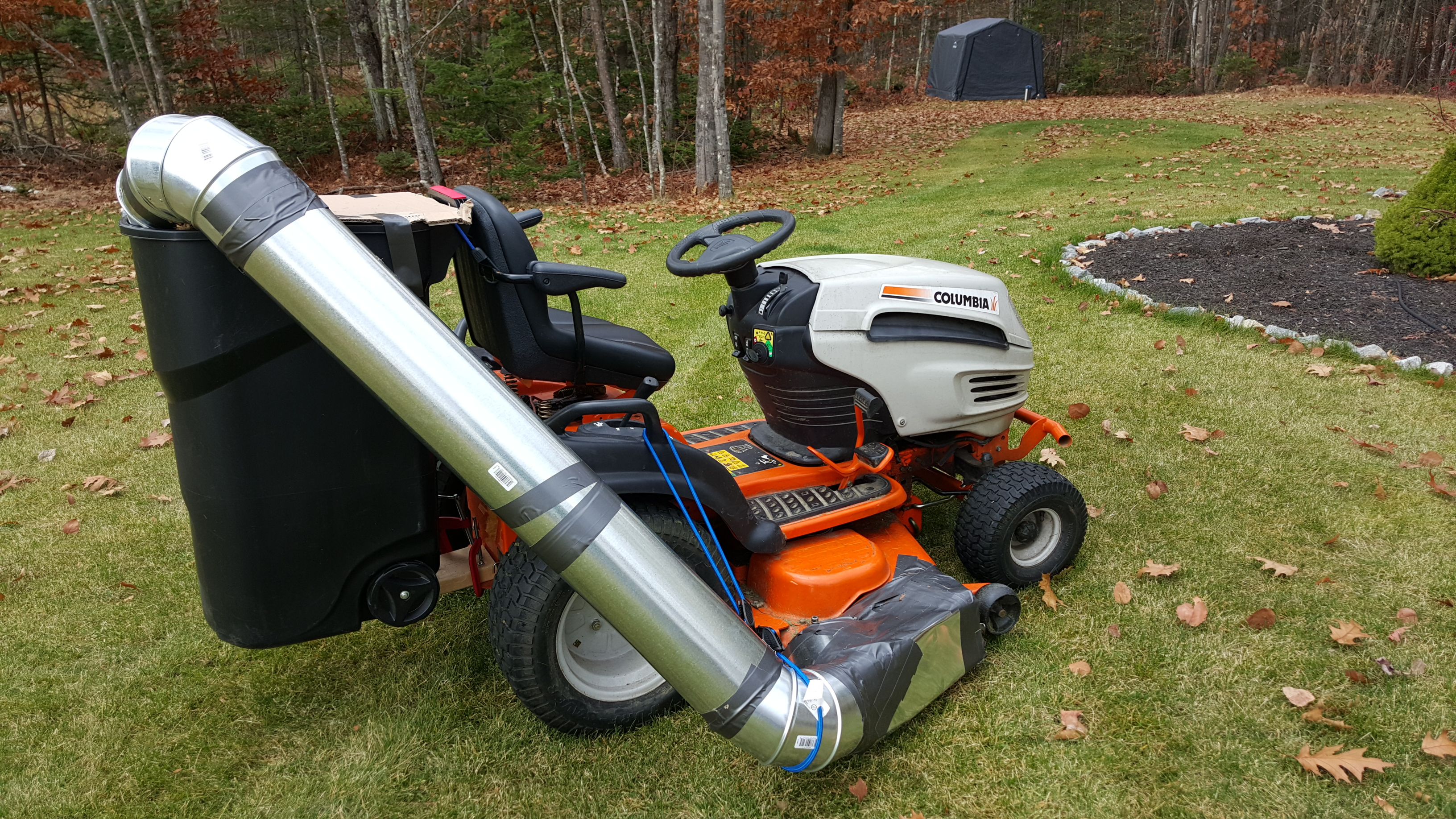 Diy Lawn Bagger For Fall Cleanup Agileadam