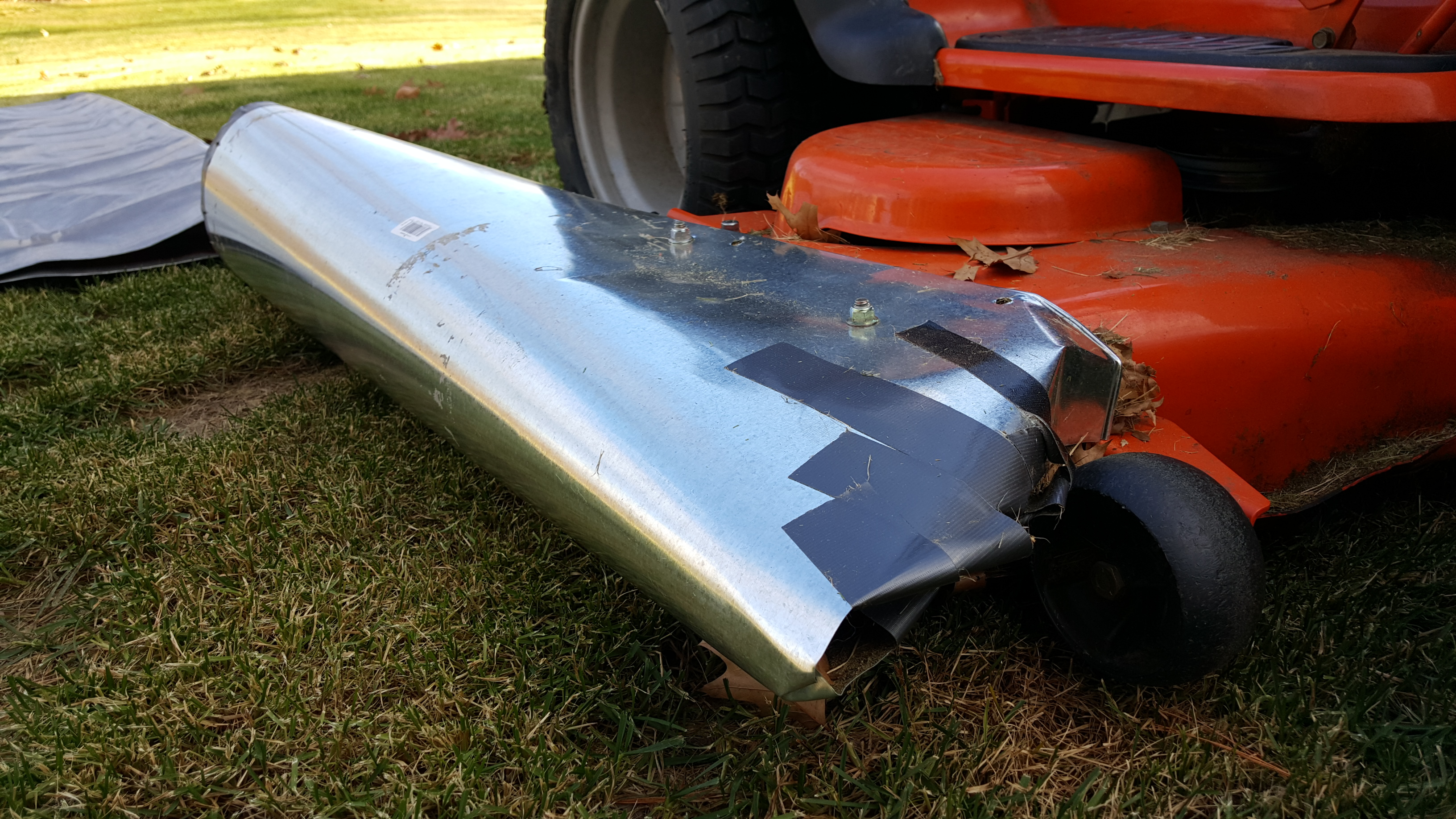 Diy Lawn Bagger For Fall Cleanup Agileadam Com