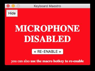 MicDisable