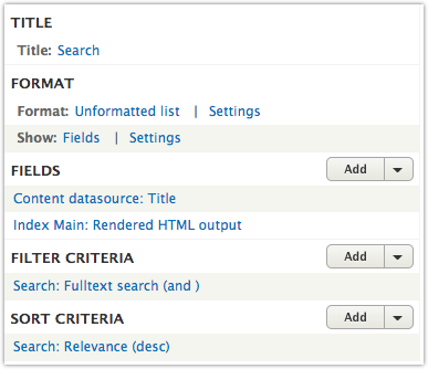 Drupal 8 Search API Tips – AgileAdam com