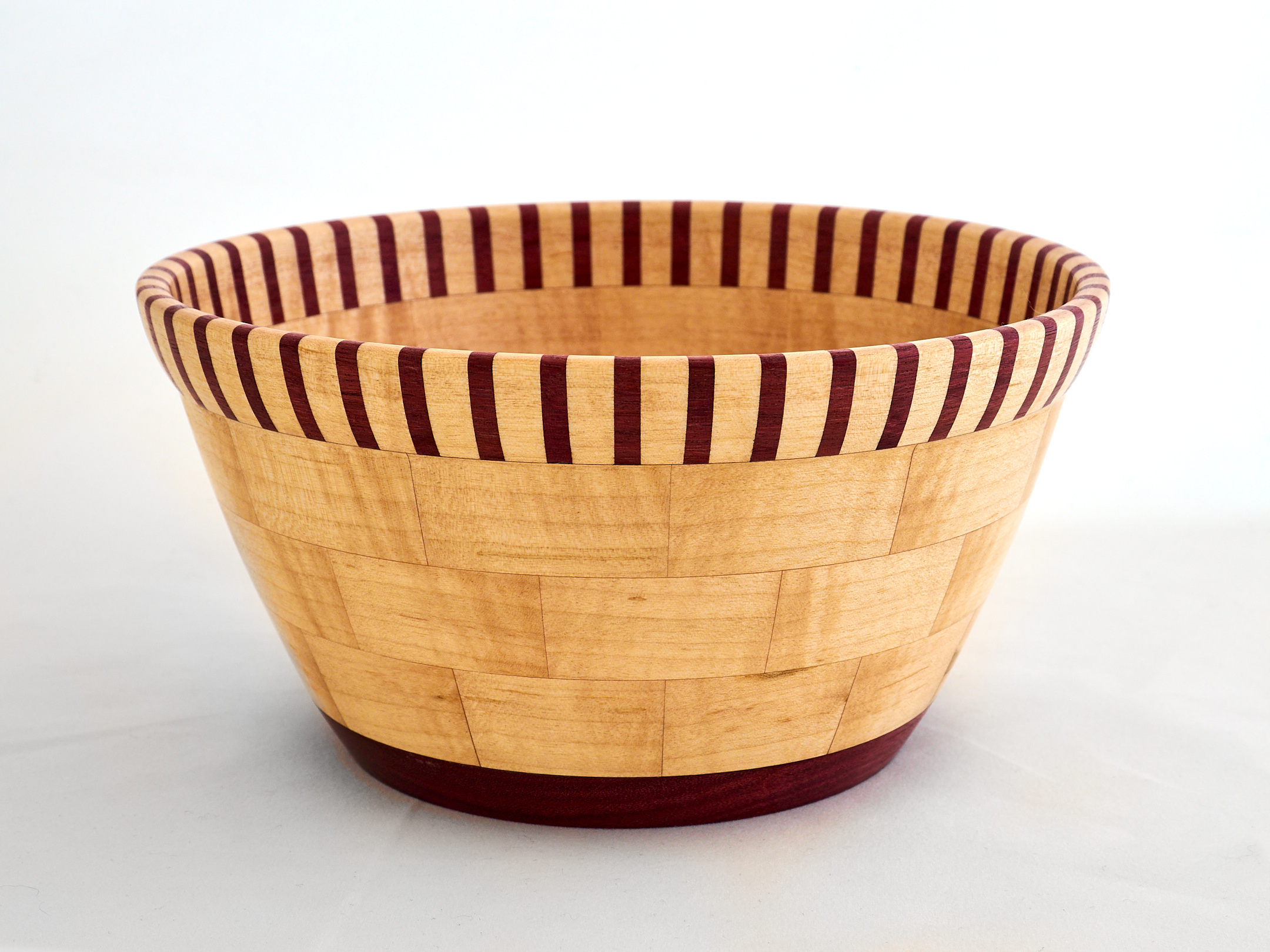 Maple and Purpleheart bowl